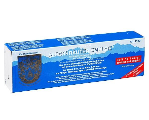 ALPENKRAUTER EMULSIE 100 ml ORIGINAL