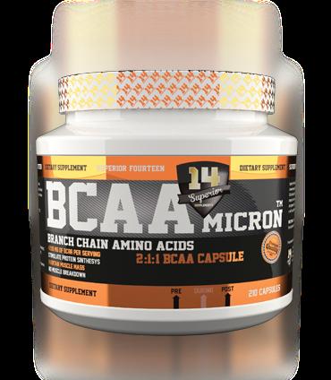 BCAA Micron 210 caps