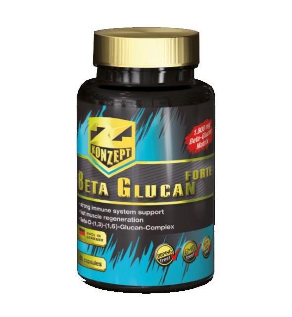 BETA GLUCAN FORTE 126 kapsula 600 mg Z KONZEPT