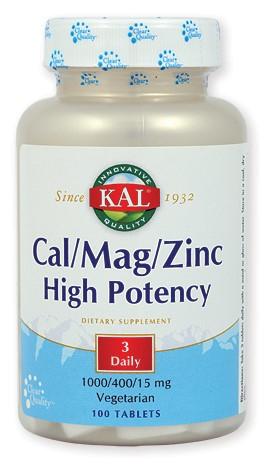 Cal/Mag/Zinc High Potency
