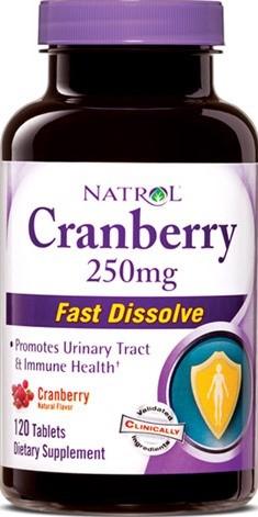 Cranberry - Brusnica tablete za žvakanje