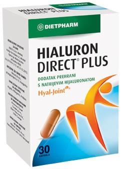 HIALURON DIRECT PLUS 30 kapsula