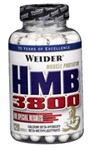 HMB 3800 (beta-hidroksi-beta-metil-butirat) Weider global