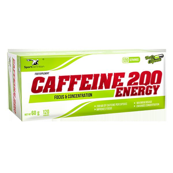 Caffeine 200 Energy 120 kapsula