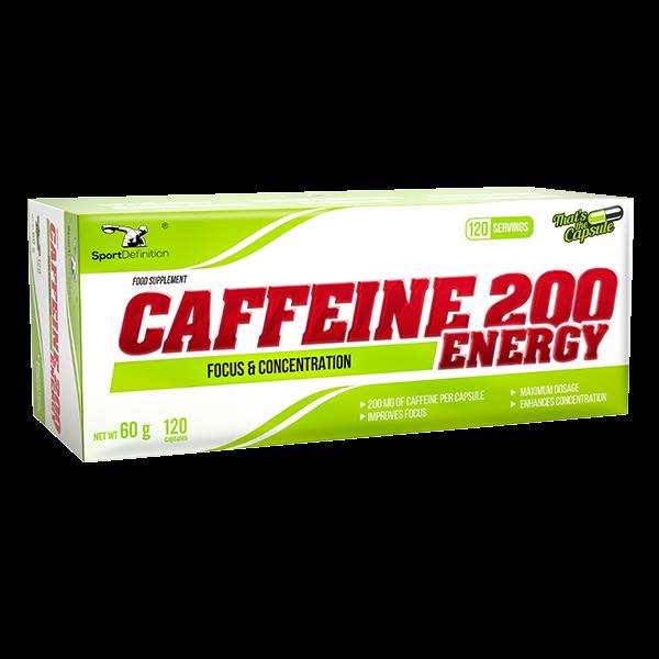Caffeine 200 - 120 kapsula