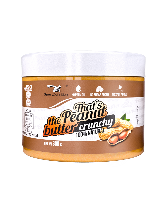 PEANUT BUTTER 300g – SMOOTH I CRUNCHY maslac od kikirikija