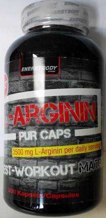 L-ARGININ 300 caps.