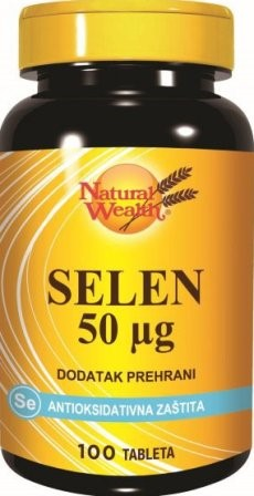 SELEN 50 mcg Natural Wealth