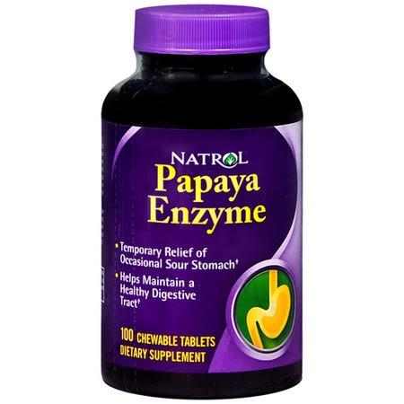 Papaya Enzyme - Natrol