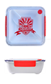 Proteka lunch box 920ml crveni
