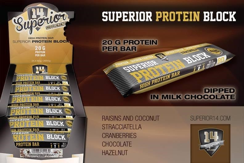 Superior Protein Block Bar 80g
