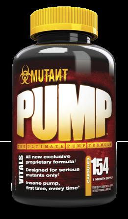 Mutant Pump 154 kapsule