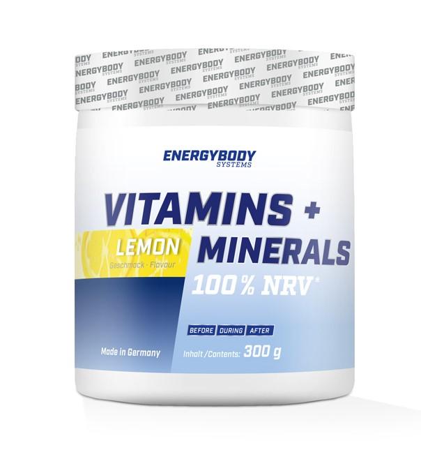 Vitamins + Minerals 300g Energybody