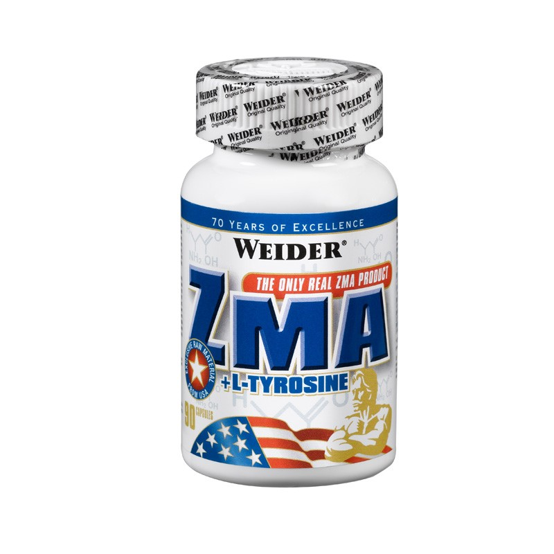 ZMA + L-Tyrosine  Weider global